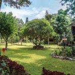 Sapana Village Lodge Garden, Chitwan Nepal