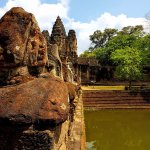 The Sth Gate to Angkor Thom