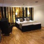Hotel City Gavle Bedroom