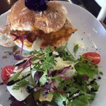 Our delicious flavoursome Chicken Prego with side salad