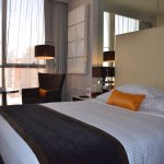 well-appointed room at Centro Barsha