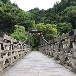 Floating bridge over the Uji river
