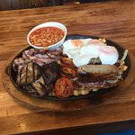 The Ultimate Breakfast - Its bigger than it looks!