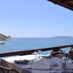 Sea view tables