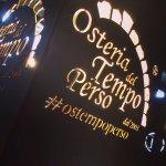 Logo e #ostempoperso al centro del progetto