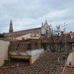 vue sur l'église Santa Croce depuis la chambre