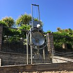 Water Clock in the centre of the park.