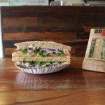 NEW Butifarra Sandwich made with homemade Peruvian ham, onion salsa and fresh rocket