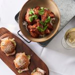Delicious sliders & our hot wings