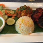Lunch at WIP, the Tandoori Chicken lunch set and the a la carte New Yorker steak are value for m