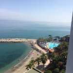 Gorgeous views from balcony as all sea view rooms! 11th floor room and spa pool