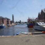 Start basin in Exeter Historic quays