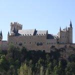 Vistas del Alcázar desde la Iglesia de la Vera Cruz