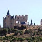 Vistas del Alcázar desde la carretera