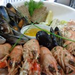 Our Fresh locally landed Seafood platter