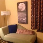 Retro decor and moon art