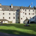 Traquair House from Courtyard