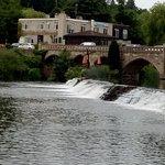 Weir at Bathampton Mill