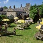Fantastic beer garden