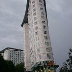 El hotel...