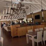 Restaurant on Norman Island where we had a wonderful lunch