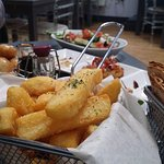 Look at the chunky chips!