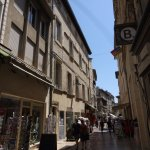 Le joli quartier du vieil Avignon