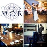 The Private Dining Room at Oran Mor - For intimate celebrations and corporate events.