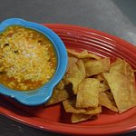 Chicken tortilla soup and fresh chips