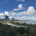You can get similar views from Kings Park. If you are lucky, you may see the rainbow too.