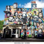 Our rather famous mural,come and see if you can name them all?