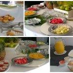 Desayuno Cabañas San Lorenzo