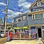 Quicks Hole Taqueria in summertime Woods Hole.