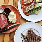Prime Rib, Lobster Tails & Steak