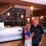 Denise & Peter welcome you to our cafe in the beautiful Dales.