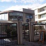 """""""Cafémaría"""" cafetería ubicada a un costado de nuestro hotel por Av.Ricardo Lyon."""