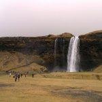 waterfall 5 min drive away
