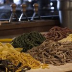 Handmade pasta made fresh daily using Northwest Flour and local eggs