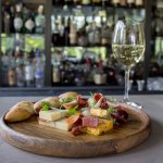 Cheese and Charcuterie plate from The Fearrington House Restaurant bar menu