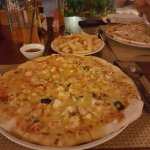 Pizza at the resturant!