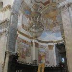 Una de las capillas con frescos interesante