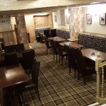 Lower part of our restaurant also available for party's/gatherings