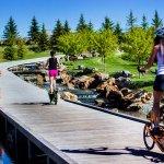 Bike trails around Snake River Landing