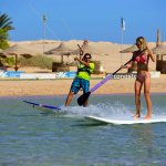 Kiting and SUP at the 7 Bft KiteHouse