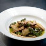 Local Asparagus and Mushroom Gnoccchi
