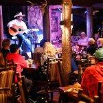 Clay Self singing at the Buzzard Bar