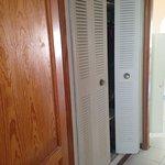 door would not shut, maintenance man had to repair