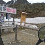 Oben angekommen an Passo di Gavia