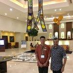With Naresh Karankot, Housekeeping SHI Supervisor
