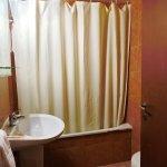 専用バスルームつきの部屋のバスルーム